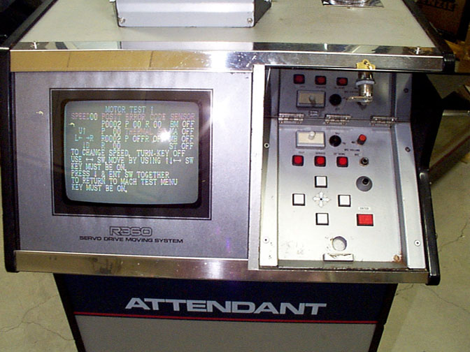 Attendant's Tower Controls