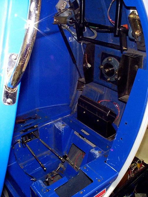 R-360 Cockpit