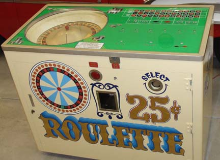 ACME Rollette Payout Roulette Wheel