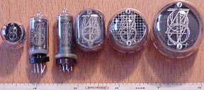 Selection of Nixie Tubes